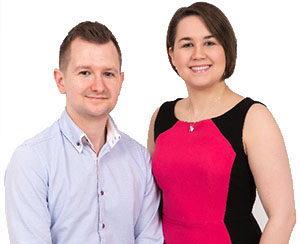 family run business Martin and Aimee Hargreaves Directors at Ultra Accountancy